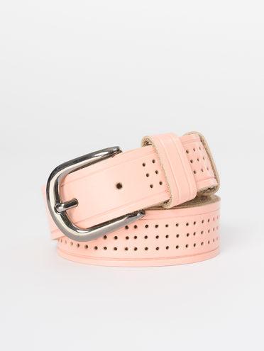 Ремень кожа теленок, цвет розовый, арт. 11810400  - цена 890 руб.  - магазин TOTOGROUP