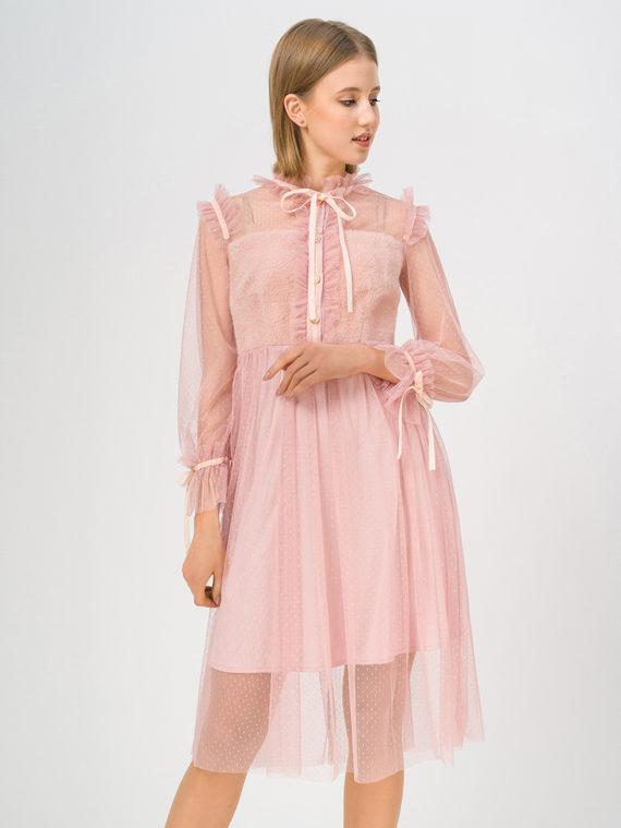 Платье , цвет розовый, арт. 11810409  - цена 1950 руб.  - магазин TOTOGROUP