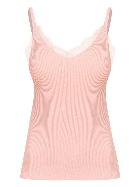 Джемпер 65%вискоза,35%нейлон, цвет розовый, арт. 11810549  - цена 990 руб.  - магазин TOTOGROUP