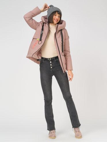 Пуховик 100% полиэстер, цвет розовый, арт. 11810571  - цена 6630 руб.  - магазин TOTOGROUP