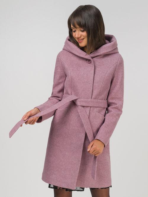 Текстильное пальто артикул 11810658/42 - фото 2
