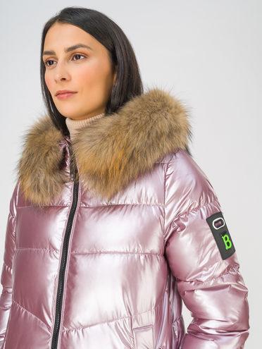 Пуховик 100% полиэстер, цвет розовый, арт. 11810756  - цена 9990 руб.  - магазин TOTOGROUP