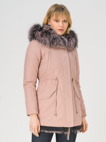 Парка 100% полиэстер, цвет розовый, арт. 11810833  - цена 28490 руб.  - магазин TOTOGROUP
