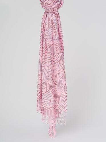ШАРФ 70% кашемир 30% полиэстер, цвет розовый, арт. 11811022  - цена 1490 руб.  - магазин TOTOGROUP