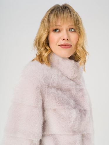 Шуба мех норка крашен., цвет розовый, арт. 11811128  - цена 56490 руб.  - магазин TOTOGROUP