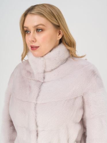 Шуба мех норка крашен., цвет розовый, арт. 11811129  - цена 79990 руб.  - магазин TOTOGROUP