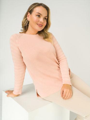 Джемпер 90% акрил , 10% полиэстер, цвет розовый, арт. 11811178  - цена 890 руб.  - магазин TOTOGROUP