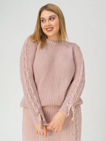 Джемпер , цвет розовый, арт. 11811186  - цена 2170 руб.  - магазин TOTOGROUP