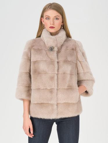 Шуба мех норка крашен., цвет розовый, арт. 11811213  - цена 39990 руб.  - магазин TOTOGROUP