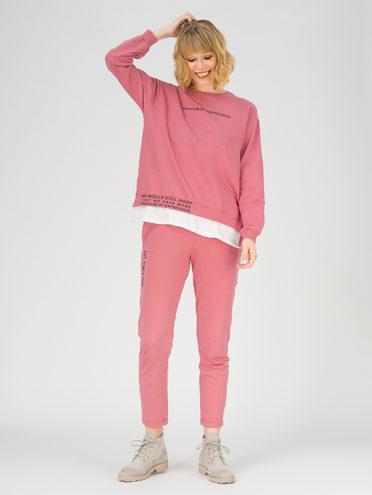 Трикотажный костюм 100% хлопок, цвет розовый, арт. 11811253  - цена 2060 руб.  - магазин TOTOGROUP