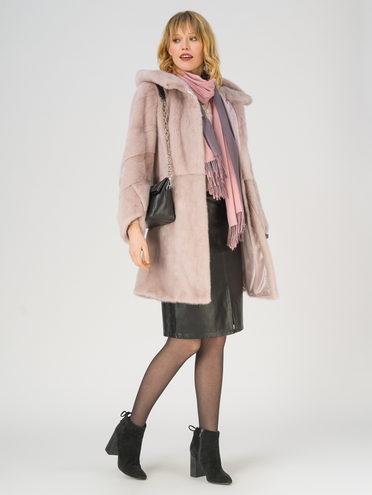 Шуба мех норка крашен., цвет розовый, арт. 11811315  - цена 89990 руб.  - магазин TOTOGROUP