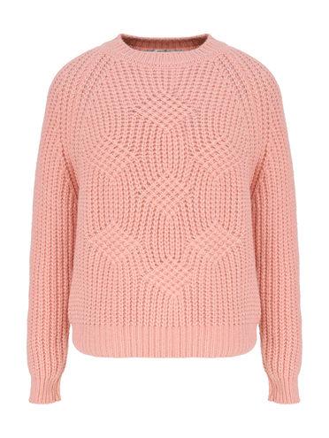 Джемпер 45% нейлон , 28% шерсть, 27% мохер, цвет розовый, арт. 11811334  - цена 2060 руб.  - магазин TOTOGROUP