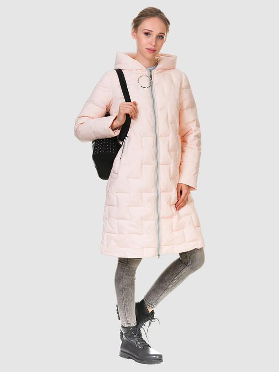 Пуховик текстиль, цвет розовый, арт. 11900641  - цена 5890 руб.  - магазин TOTOGROUP