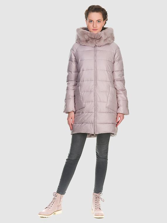 Пуховик текстиль, цвет розовый, арт. 11900671  - цена 8490 руб.  - магазин TOTOGROUP