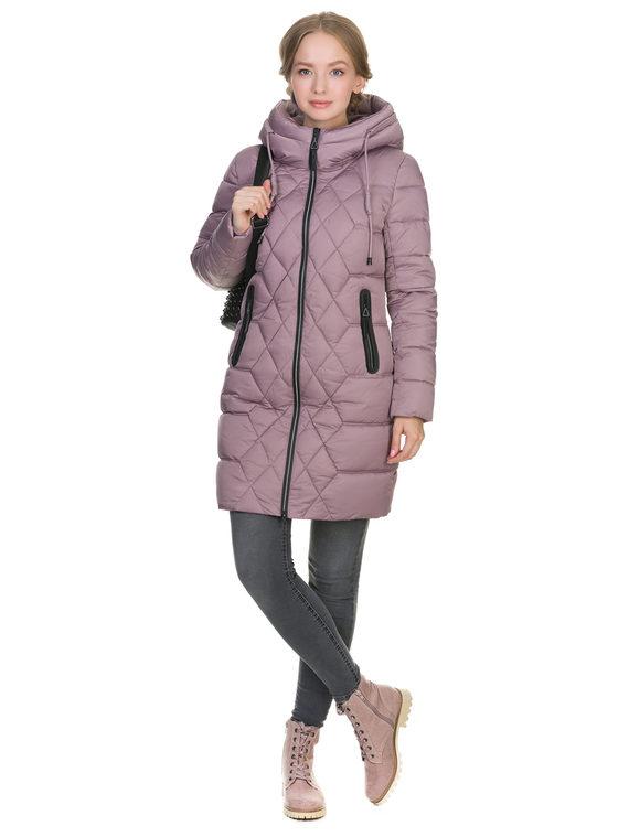 Пуховик текстиль, цвет розовый, арт. 11900788  - цена 3990 руб.  - магазин TOTOGROUP