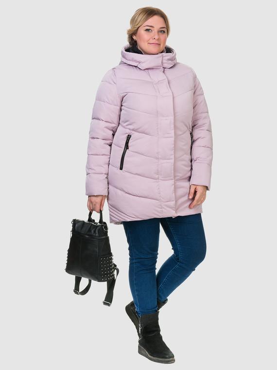 Пуховик текстиль, цвет розовый, арт. 11900871  - цена 1850 руб.  - магазин TOTOGROUP