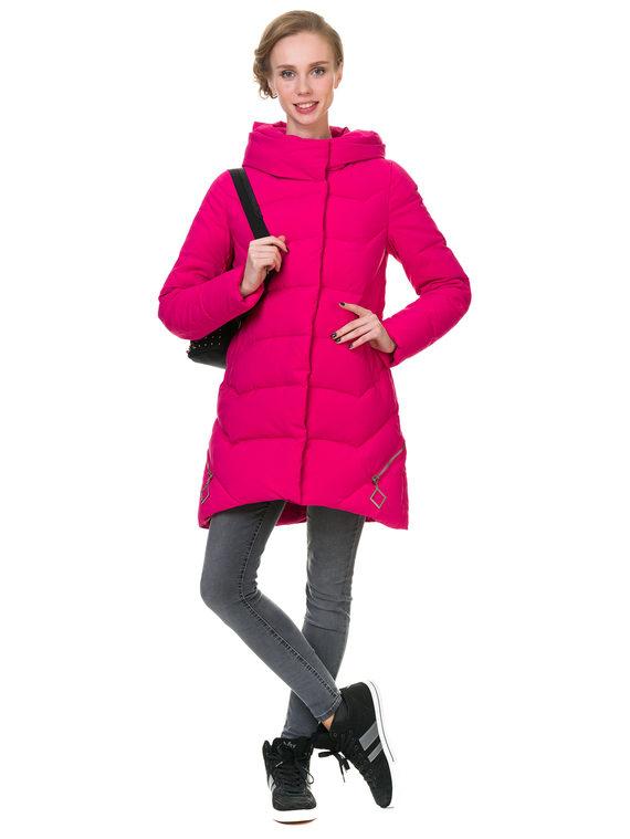 Пуховик текстиль, цвет розовый, арт. 11902825  - цена 4490 руб.  - магазин TOTOGROUP