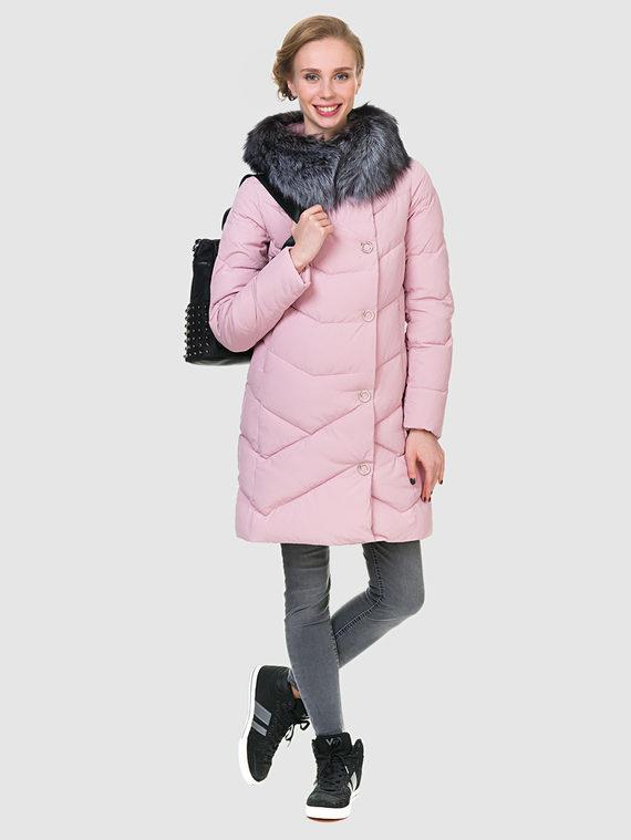 Пуховик текстиль, цвет розовый, арт. 11902828  - цена 7490 руб.  - магазин TOTOGROUP
