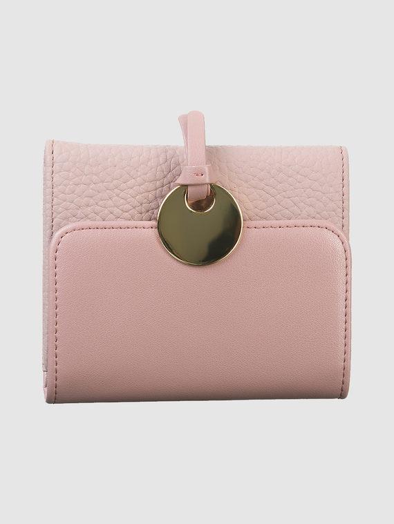 Кошелек кожа флоттер, цвет розовый, арт. 11903313  - цена 1410 руб.  - магазин TOTOGROUP
