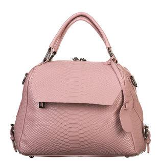 Сумка кожа кожа  под крокодила, цвет розовый, арт. 11903344  - цена 6630 руб.  - магазин TOTOGROUP