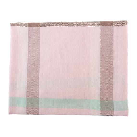 Шарф 60% хлопок, 40% шерсть, цвет розовый, арт. 11903546  - цена 490 руб.  - магазин TOTOGROUP