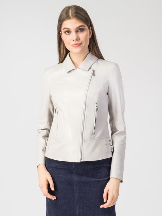 Кожаная куртка кожа , цвет светло-бежевый, арт. 12106320  - цена 11290 руб.  - магазин TOTOGROUP