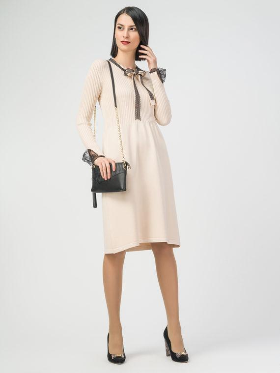 Платье 37% хлопок, 37% полиэстер, 26% вискоза, цвет светло-бежевый, арт. 12108419  - цена 2690 руб.  - магазин TOTOGROUP
