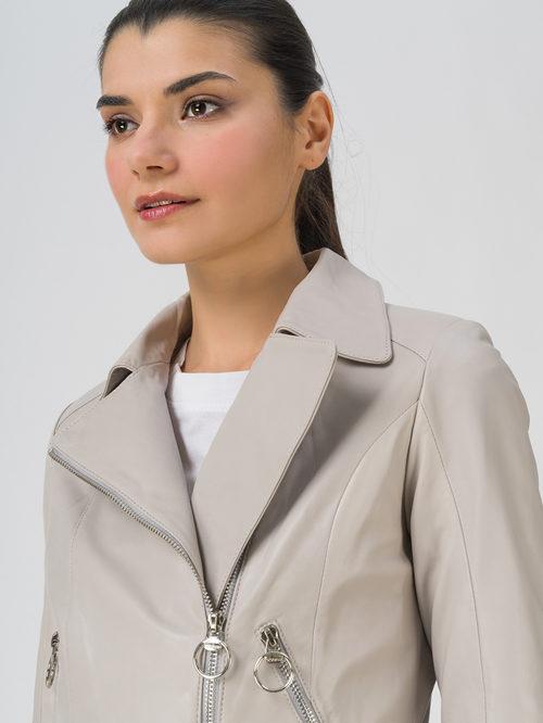 Кожаная куртка артикул 12802450/42 - фото 3