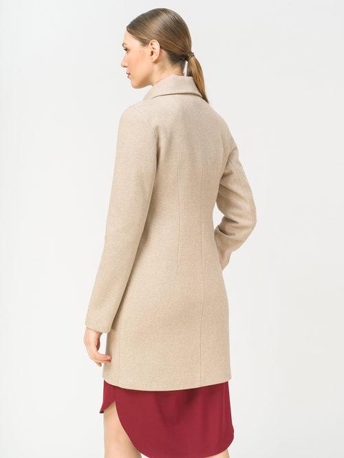 Текстильное пальто артикул 12809287/44 - фото 3