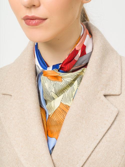 Текстильное пальто артикул 12809287/44 - фото 4