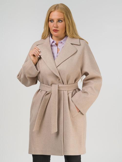 Текстильное пальто артикул 12809289/52 - фото 2