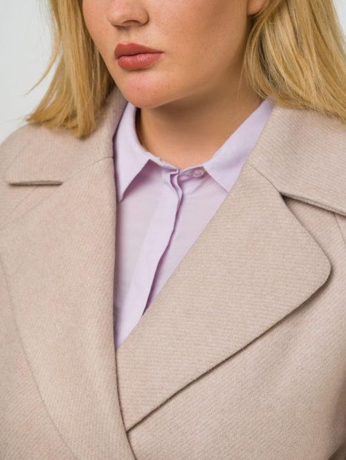 Текстильное пальто артикул 12809289/52 - фото 3