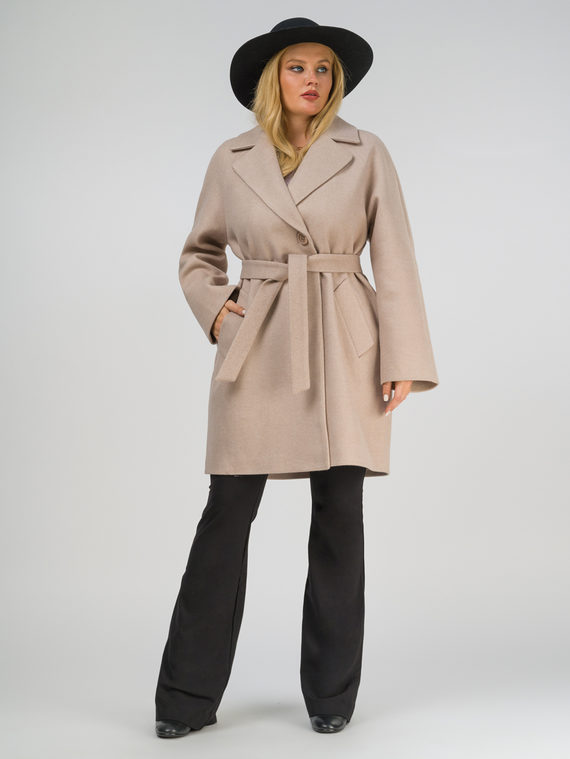 Текстильное пальто , цвет светло-бежевый, арт. 12809289  - цена 5890 руб.  - магазин TOTOGROUP