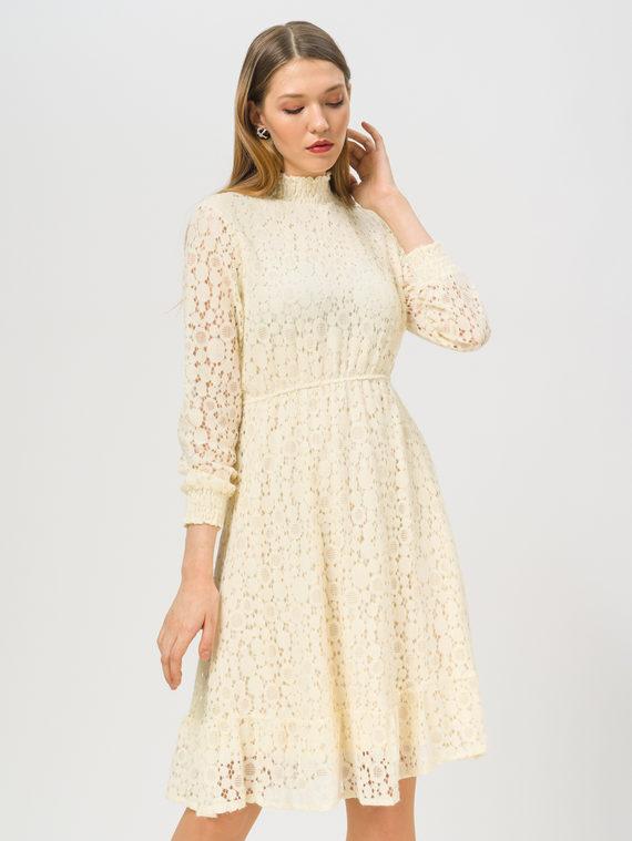 Платье , цвет светло-бежевый, арт. 12810230  - цена 1410 руб.  - магазин TOTOGROUP