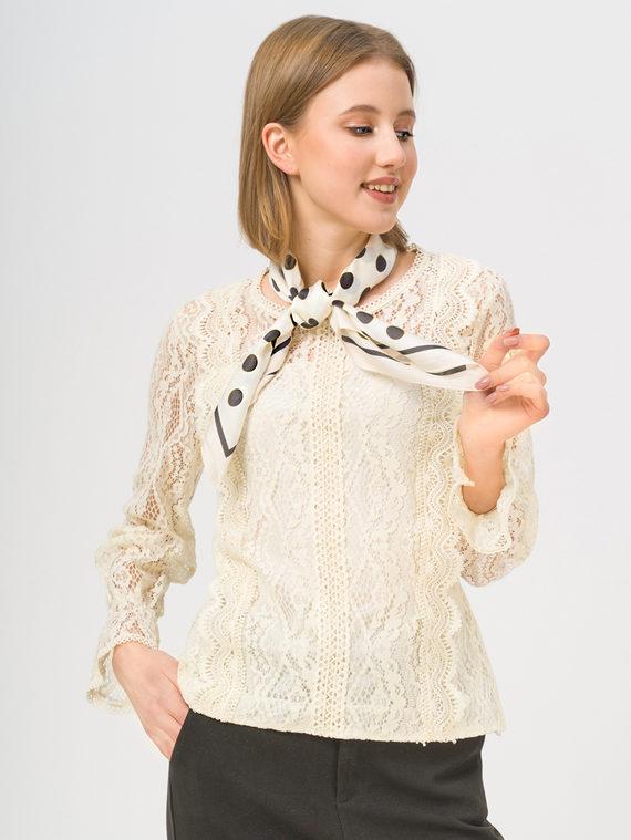 Блуза , цвет светло-бежевый, арт. 12810232  - цена 1570 руб.  - магазин TOTOGROUP