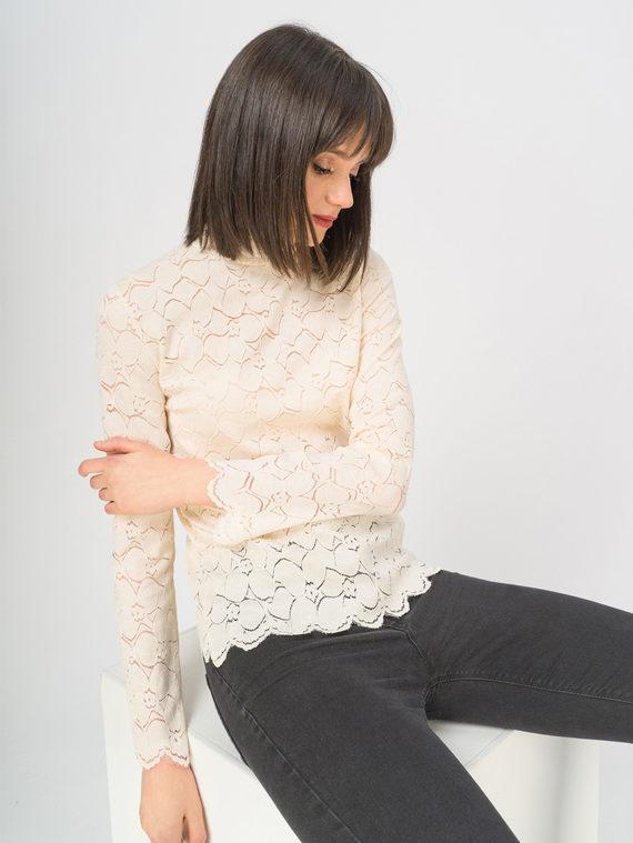 Блуза , цвет светло-бежевый, арт. 12810355  - цена 940 руб.  - магазин TOTOGROUP