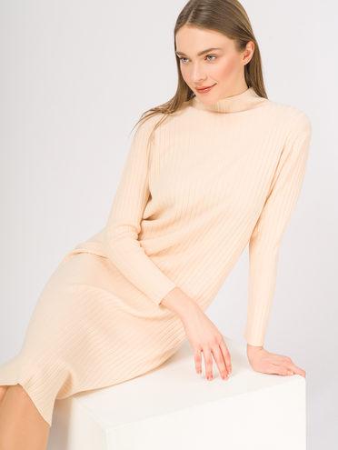 Платье 65%вискоза,35%нейлон, цвет светло-бежевый, арт. 12810358  - цена 1410 руб.  - магазин TOTOGROUP