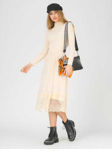Платье 50% вискоза, 28% полиэстер, 22% нейлон, цвет светло-бежевый, арт. 12811161  - цена 2170 руб.  - магазин TOTOGROUP