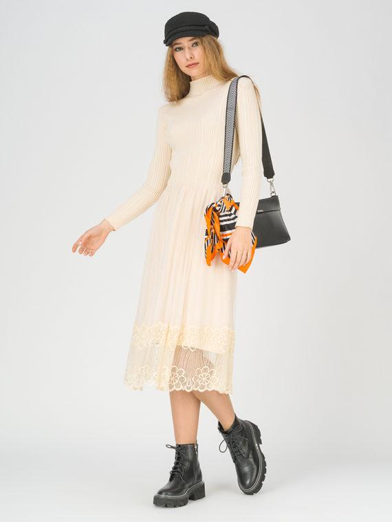 Платье 50% вискоза, 28% полиэстер, 22% нейлон, цвет светло-бежевый, арт. 12811161  - цена 3790 руб.  - магазин TOTOGROUP