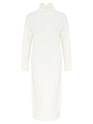 Платье 60% шерсть, 33% нейлон, 7% полиэстер, цвет светло-бежевый, арт. 12811342  - цена 2420 руб.  - магазин TOTOGROUP