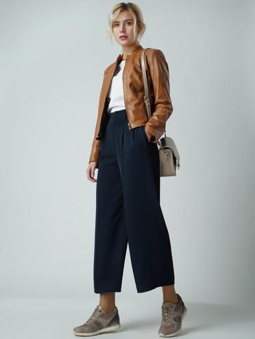 Кожаная куртка кожа , цвет светло-коричневый, арт. 13005511  - цена 7990 руб.  - магазин TOTOGROUP