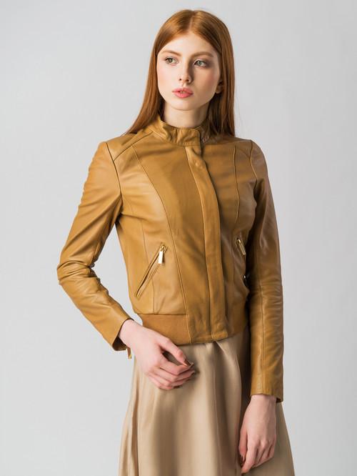 Кожаная куртка артикул 13005514/42 - фото 2