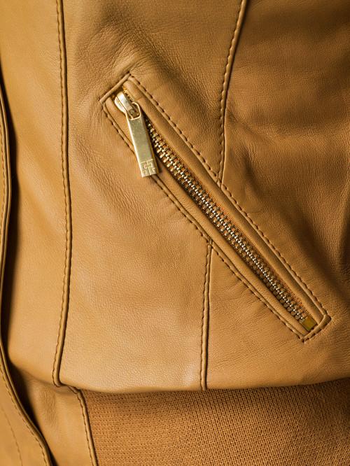 Кожаная куртка артикул 13005514/42 - фото 4