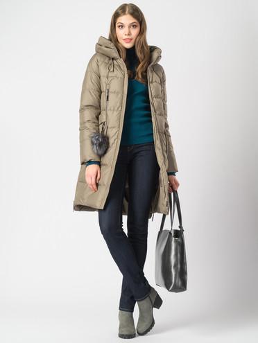 Пуховик текстиль, цвет светло-коричневый, арт. 13006219  - цена 7990 руб.  - магазин TOTOGROUP