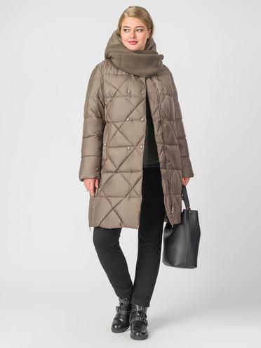 Пуховик текстиль, цвет светло-коричневый, арт. 13006291  - цена 7990 руб.  - магазин TOTOGROUP