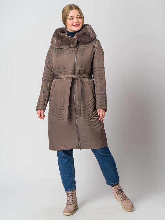 Пуховик текстиль, цвет коричневый, арт. 13006458  - цена 14990 руб.  - магазин TOTOGROUP