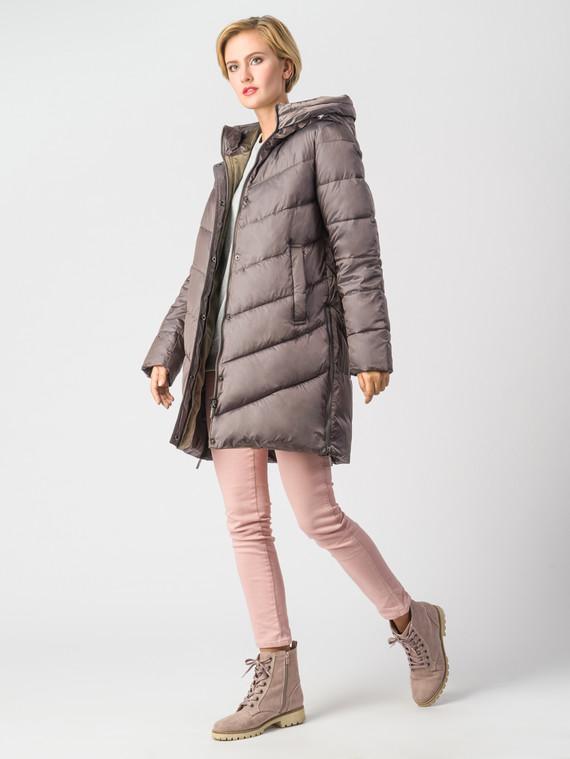 Пуховик текстиль, цвет светло-коричневый, арт. 13006559  - цена 9490 руб.  - магазин TOTOGROUP