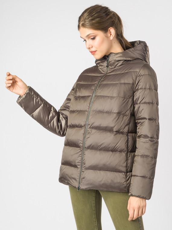 Пуховик текстиль, цвет светло-коричневый, арт. 13006561  - цена 8490 руб.  - магазин TOTOGROUP