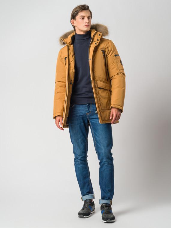 Пуховик текстиль, цвет светло-коричневый, арт. 13006743  - цена 6290 руб.  - магазин TOTOGROUP