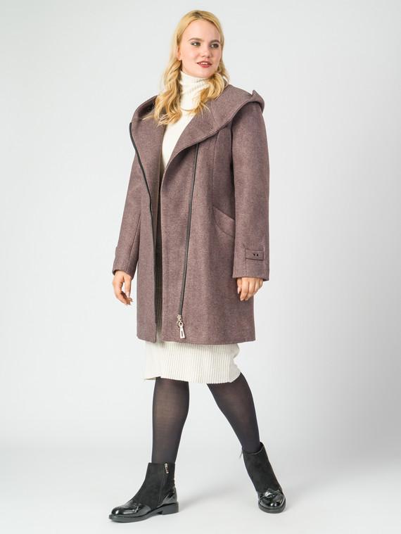 Текстильное пальто 30%шерсть, 70% п.э, цвет светло-коричневый, арт. 13006801  - цена 7990 руб.  - магазин TOTOGROUP